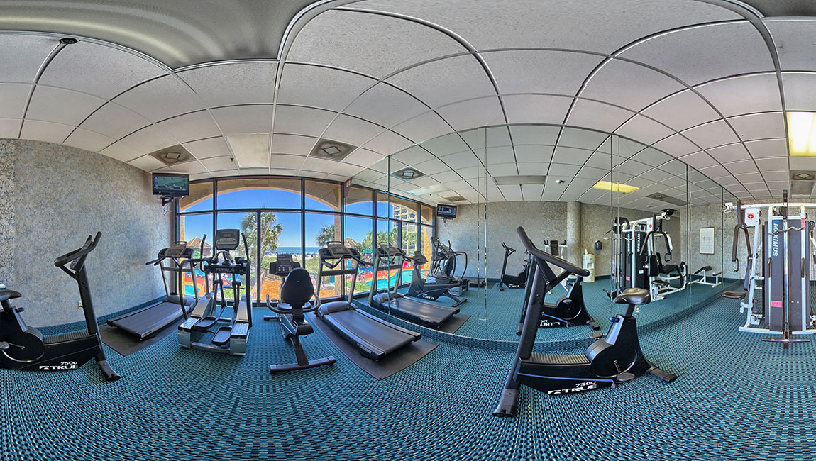 Exercise Room Beach Cove Resort