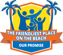 The Friendliest Place on the Beach Logo