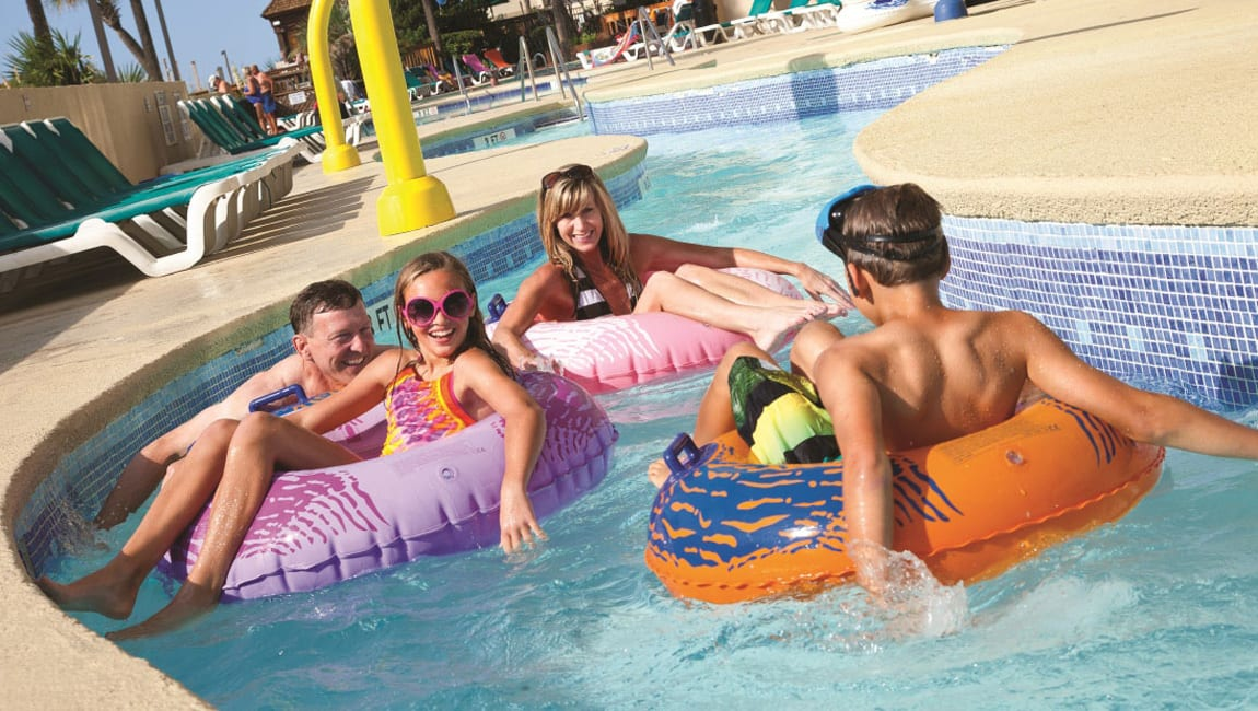 Lazy River at Beach Cove Resort