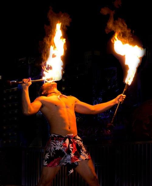Myrtle Beach Fire Show