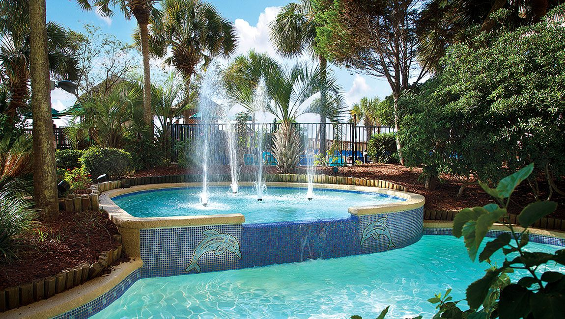 Beach Cove Resort Fountain